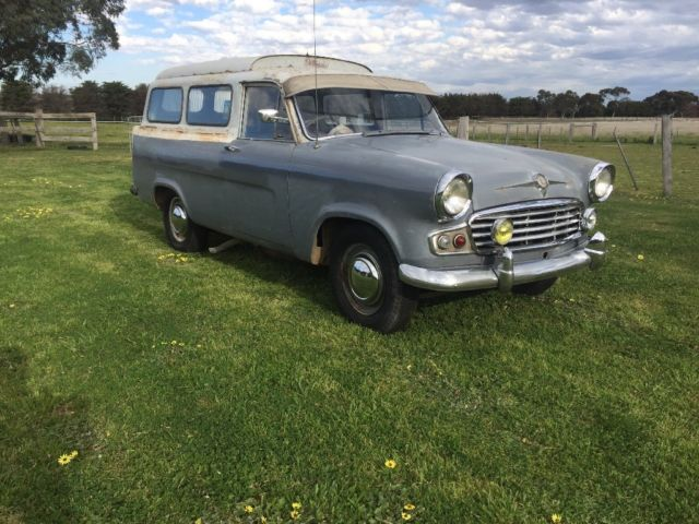 Vanguard panel van, very rare not Holden,ford,chev,dodge