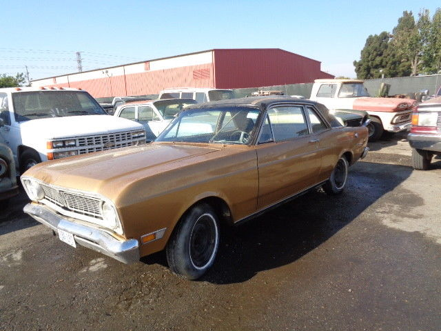 1969 FORD FALCON FUTURA 2 DOOR COUPE 6 CYLINDER AUTO GOOD CLEAN WEST COST US CAR