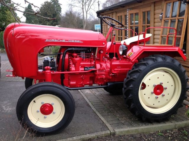 PORSCHE TRACTORS, CONCOURS CONDITION, FULLY RESTORED, STUNNING!