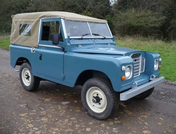 1973 Land Rover Series 3 Soft Top Tax Exempt Defender Style