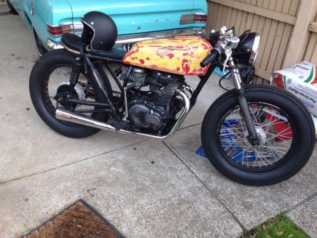 Honda CB360 Cafe Racer Brat Bobber LAMS For Sale Melbourne Victoria