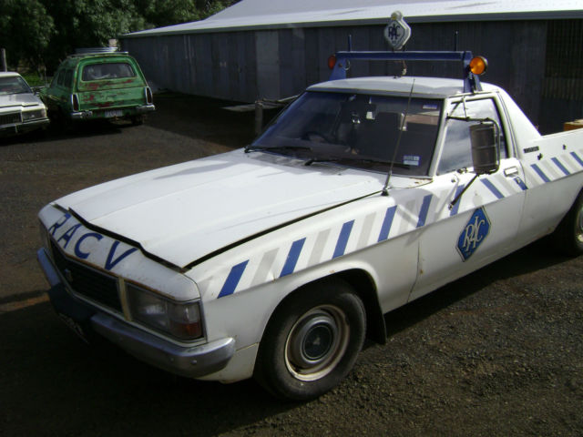 1981 Holden WB ex-RACV Ute 202 / 3.3L A/C Unmodified since RACV use