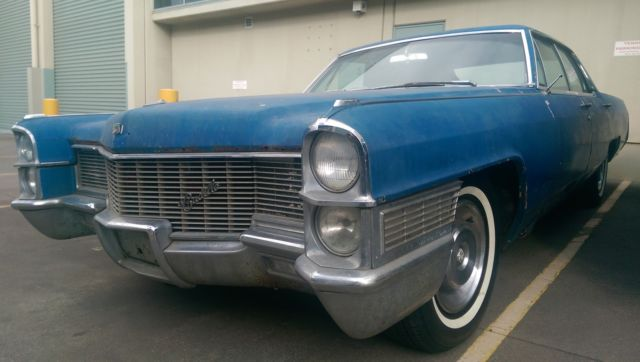 cadillac de ville 1965 sedan pillarless original no reserve V8 BIG BLOCK 429CI