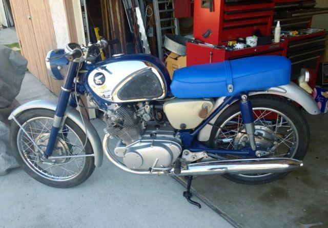 1962 Honda CB