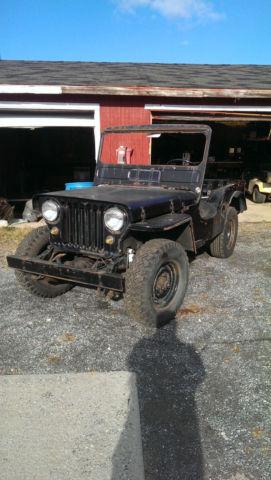 1947 Jeep CJ CJ2A