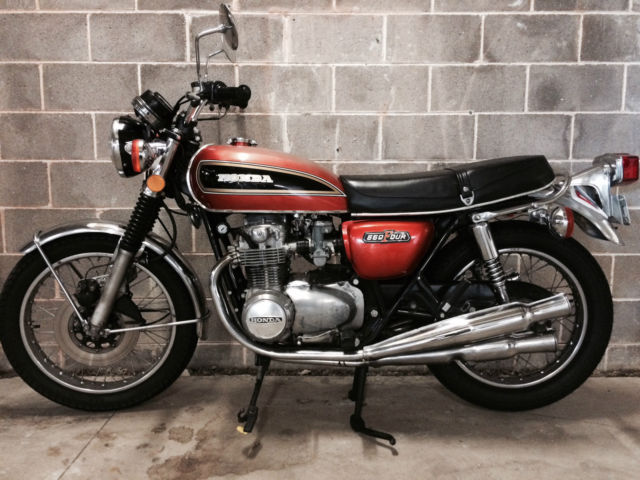 Classic 1974 HONDA CB550K Motorcycle Base For Cafe Racer Sale