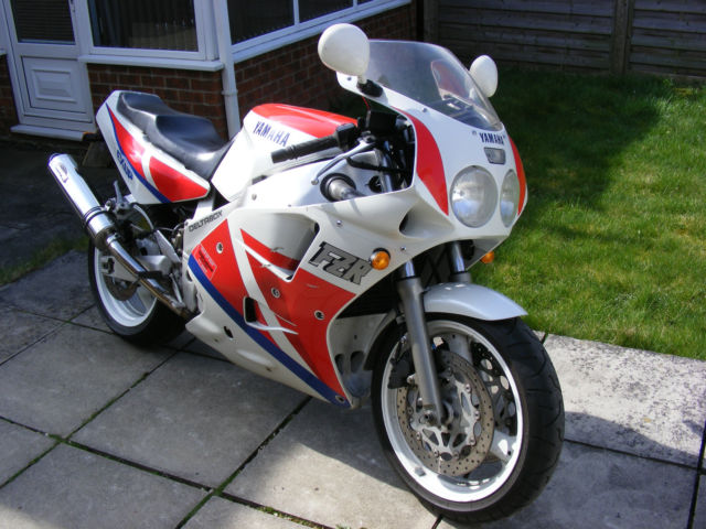 1990 yamaha fzr 1000 exup r1 fireblade predecessor for. Black Bedroom Furniture Sets. Home Design Ideas