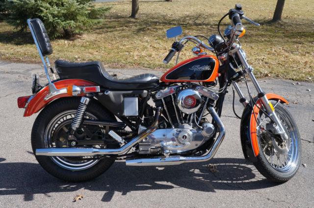 Harley Davidson Sportster  Battery