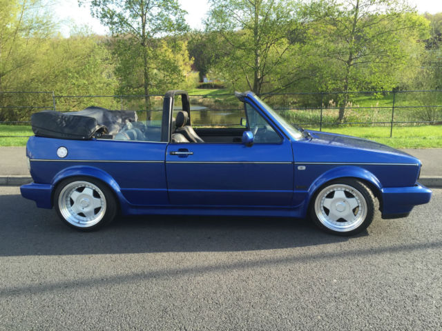"1988 Volkswagen Golf 1.8 CARB Clipper Ltd Edn CABRIOLET 16"" BORBET 12 MTHS MOT"