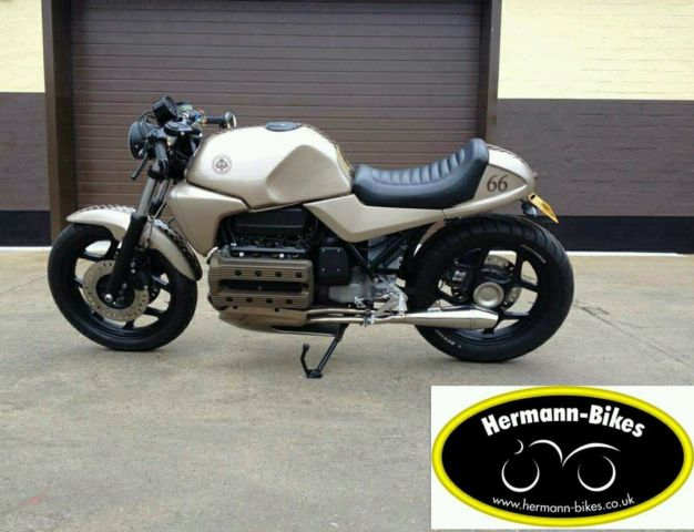 bmw k100 cafe racer professionaly built completely refurbished
