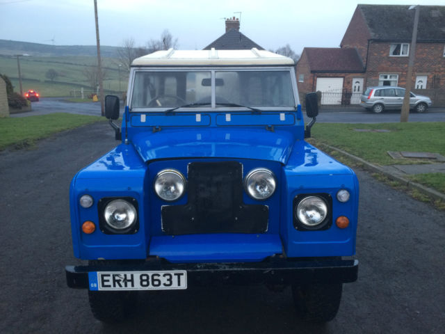 land rover series 3 2 1/4 petrol station wagon overdrive