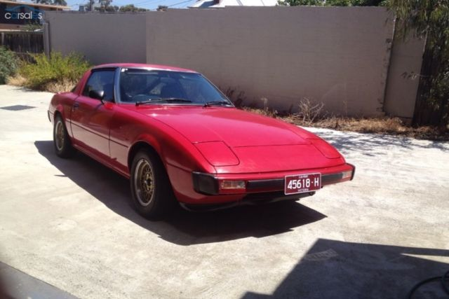 1980 Mazda RX7 13B SA22C Series 1, rwc included, non turbo, 12a drift rotary