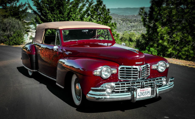 1948 Lincoln Continental Cabroilet Convertible