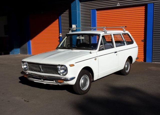 Corolla KE18 *RARE* 1970 2 Door Wagon Toyota - Coupe - suit KE20 KE30 Ke10