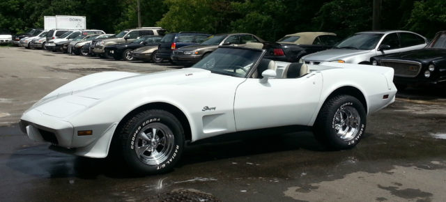Chevrolet : Corvette CONVERTIBLE CUSTOM