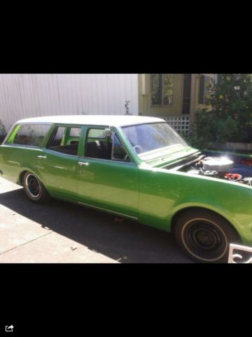 Ht V8 Kingswood Wagon Project