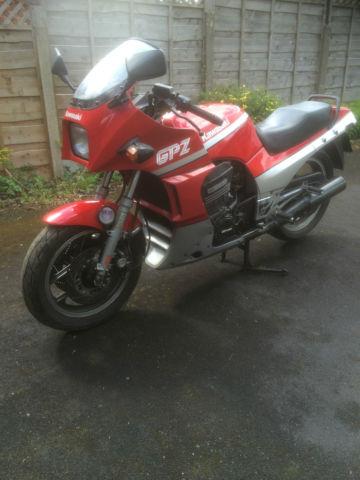 Kawasaki GPZ900R...