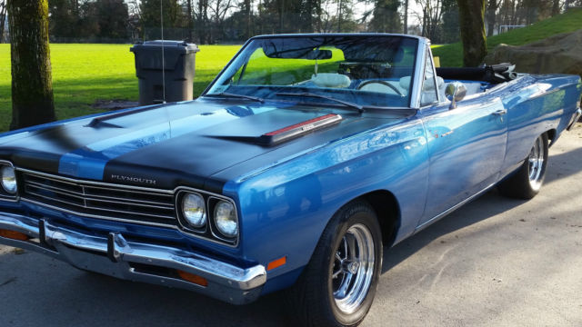 1969 Plymouth Road Runner Roadrunner Convertible