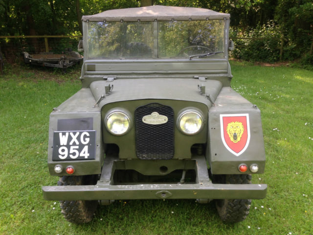 """Land Rover Series 1 One 80"""" Minerva 1951 LHD"""