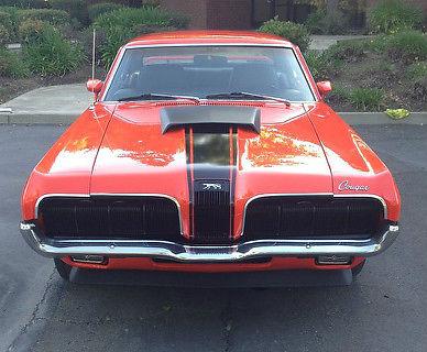 19700000 Mercury Cougar Eliminator