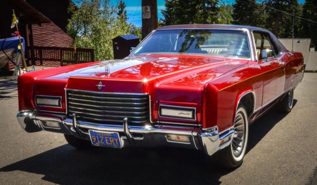 1971 Lincoln Continental Restored Original 2 Door Hardtop For Sale