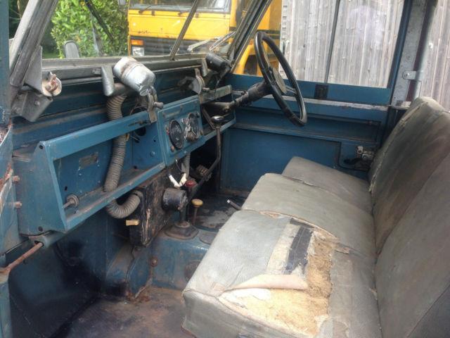 """Land Rover Series 2 II 88"""" 1961 YDP 430 Orig Berkshire reg,Galvanised chassis"""
