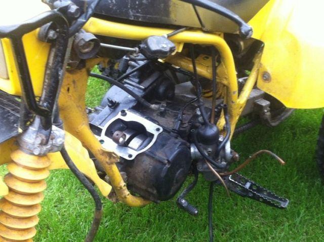 Yamaha tri250z - ytz spares or repairs not ktm gas gas raptor gsxr kxf crf road