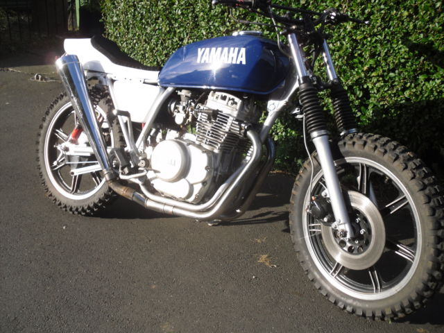 Yamaha Xs400 Flat Tracker Street Scrambler Project For Sale Evesham
