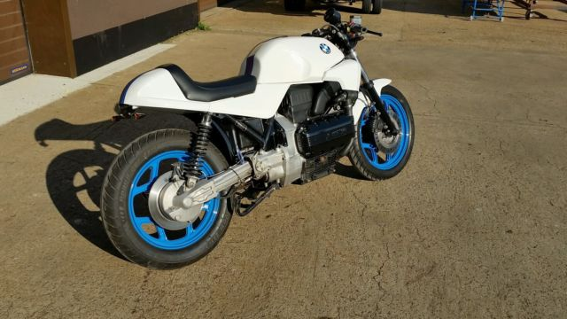 BMW K100 Cafe Racer Build By Hermann Bikes, Custom builds and paint