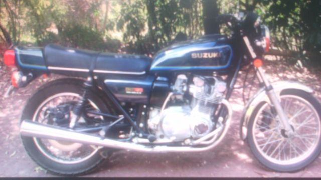 Suzuki GS750 good project to rebuild over winter 1st 4cylinder