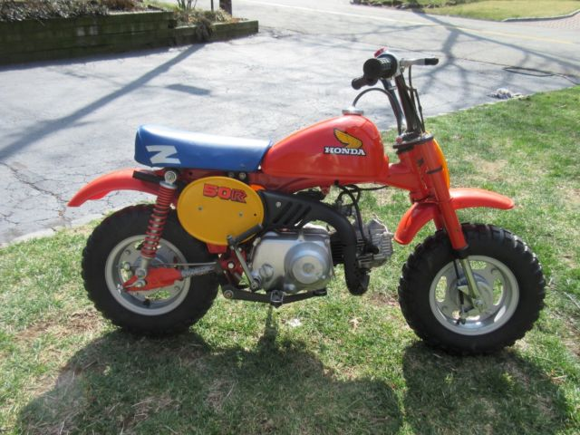1984 Honda Z50R With title! One Owner! All Original! LOOK!