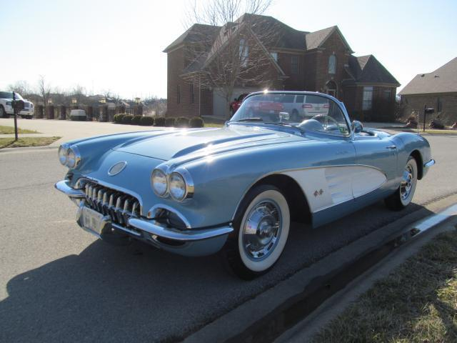 1960 Chevrolet Corvette matching numbers car