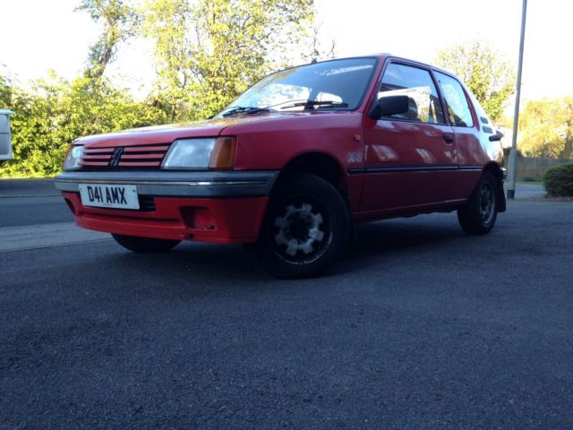 1987 peugeot 205 XS 1.4 Twin carbs , 98000 miles