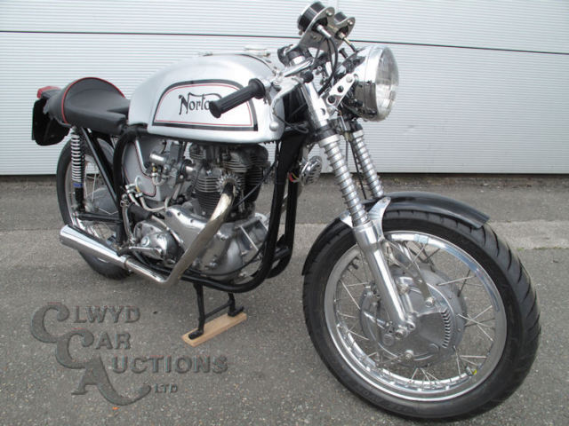 1957 Norton 650cc Motorcycle - to be sold unreserved through auction