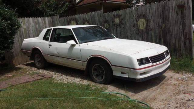 1986 Chevrolet Monte Carlo SS 305ci high output