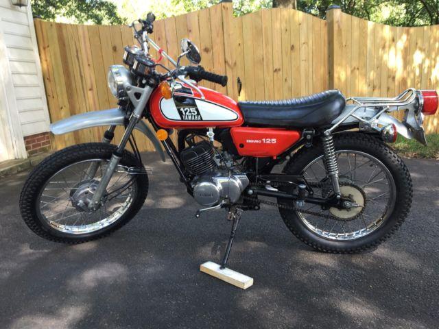 1975 Yamaha DT125A