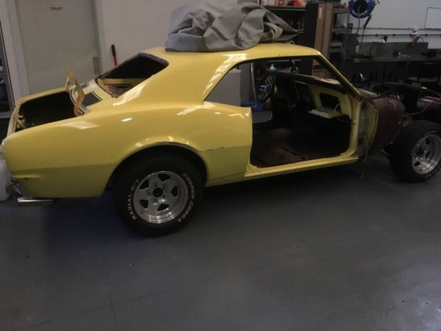 Camaro 1967 project car have all new panel an doors ,boot lid ,bonnet,lots more