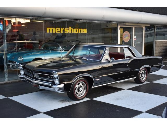 1965 Pontiac GTO - 389 with Matching Numbers, 4 Speed, Real Black over Red Car!
