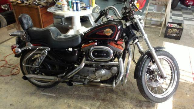1989 Harley Davidson Sportster 883. 10.531 Miles . No Reserve auction