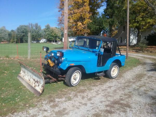 1974 CJ 5 PLOW JEEP