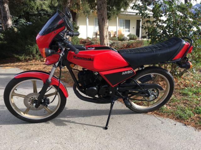 1982 Kawasaki AR80