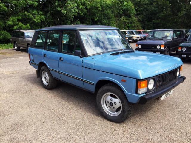 1983 RHD Range Rover 3.5 Long Shift 4 Door - Full Length Webasto Roof & A/C