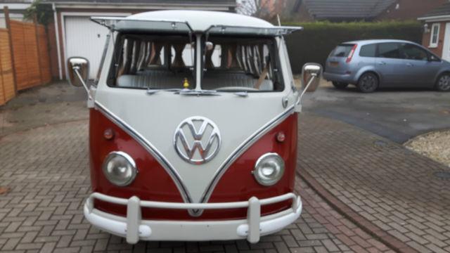 1964 VW SPLIT SCREEN DELUXE MODEL 15 WINDOW LHD IN EXCELLENT CONDITION