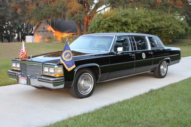 1984 Cadillac Series 75 Reagan Limousine