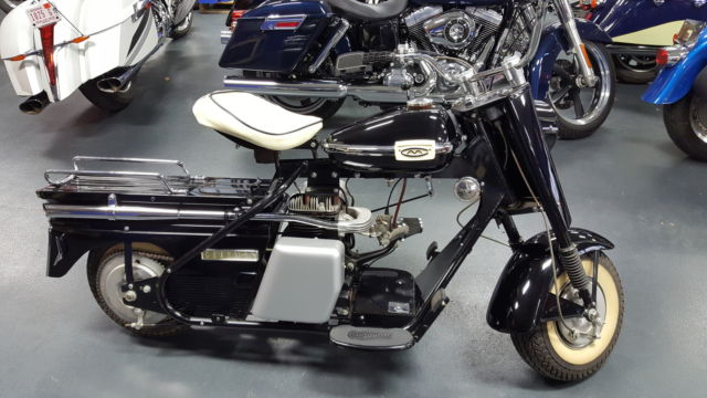 1961 CUSHMAN EAGLE BLACK IN GREAT RESTORED CONDITION