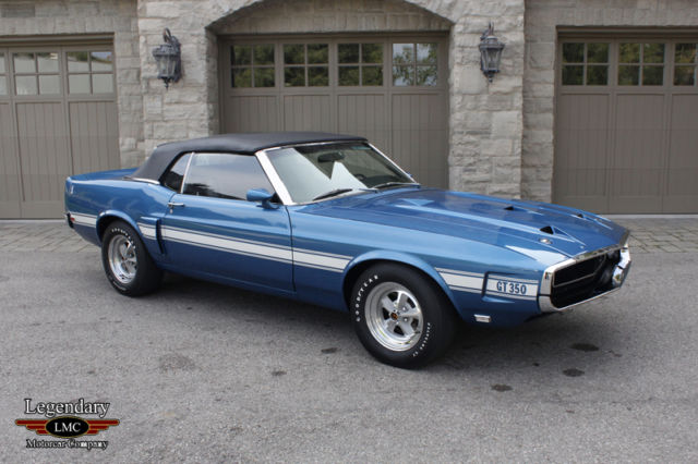 1969 Shelby GT 350 Convertible