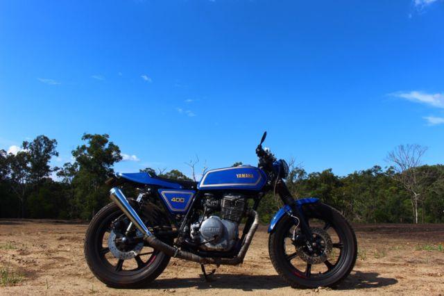 1978 Yamaha XS400 Cafe Racer Tracker Desert Sled