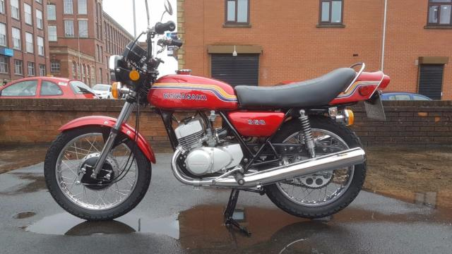 Kawasaki S2 350 Classic Retro