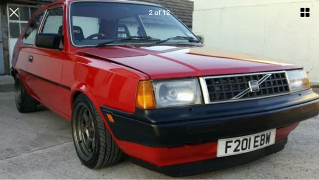 Volvo 340 1 4 Turbo Road Legal Drift Car Or Rally Stage Gt 5 Turbo