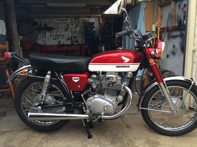 Honda Cb350 1970